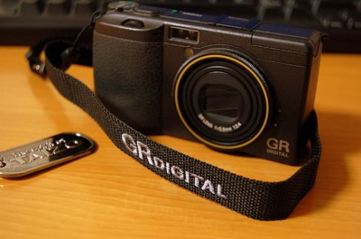 RICOH GR DIGITAL 専用ストラップ GS-1の写真